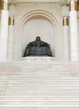 Estátua de Genghis Khan Imagens de Stock