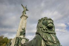 Estátua de George-Etienne Cartier Foto de Stock