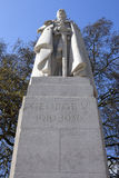 Estátua de George V em Westminster fotografia de stock royalty free