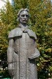 Estátua de Gheorghe Lazar foto de stock royalty free