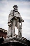 Estátua de Giuseppe Garibaldi Fotografia de Stock Royalty Free