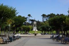 Estátua de Golden Gate Park em San Francisco foto de stock