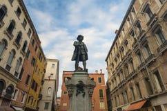 Estátua de Goldoni Imagem de Stock