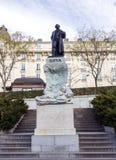 Estátua de Goya fotos de stock royalty free