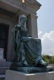 Estátua de Gravesite em Nova Orleães Fotos de Stock Royalty Free