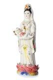 A estátua de Guan Yin Buddha fotos de stock