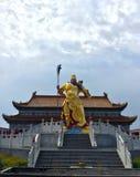 Estátua de GuanYu Imagens de Stock
