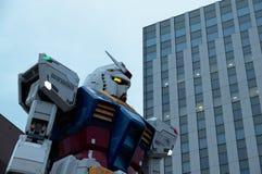 Estátua de Gundam Imagens de Stock