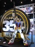 Estátua de Gundam Fotografia de Stock Royalty Free