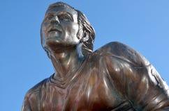 Estátua de Guy Lafleur foto de stock