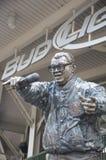 Estátua de Harry Caray Imagem de Stock