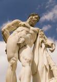 Estátua de Hercules imagens de stock royalty free