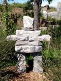 Estátua de Inuksuk imagem de stock