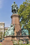 Estátua de Istvan Szechenyi em Budapest, Hungria fotografia de stock royalty free
