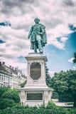 Estátua de Istvan Szechenyi, Sopron, filtro análogo foto de stock royalty free