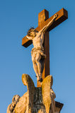 Estátua de Jesus Christ Avignon, França foto de stock royalty free