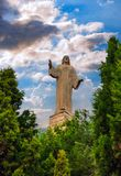 Estátua de Jesus Christ em Tudela, Espanha Imagens de Stock