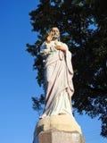 Estátua de Jesus Christ, Lituânia imagem de stock royalty free