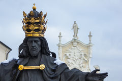 Estátua de Jesus do monastério de Jasna Gora Fotografia de Stock
