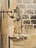 A estátua de Jesus que olha para baixo em Triq é Sur Foto de Stock