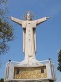 Estátua de Jesus - Vietnam, Vung Tau Fotos de Stock
