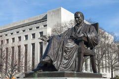 Estátua de John Marshall Fotos de Stock Royalty Free
