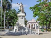 Estátua de Jose Marti foto de stock royalty free