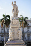 Estátua de Jose Marti Havana foto de stock