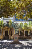Estátua de Jose Murphy em Santa Cruz de Tenerife foto de stock