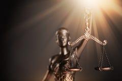 Estátua de justiça foto de stock royalty free