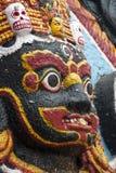 Estátua de Kaal Bhairav Imagem de Stock Royalty Free