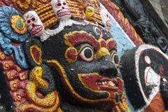 Estátua de Kaal Bhairav Fotos de Stock