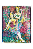 Estátua de Kinnari Imagens de Stock