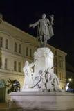Estátua de Kossuth em Szeged Fotografia de Stock Royalty Free