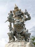 Estátua de Kumbakarna Laga no templo de Pura Uluwatu Fotos de Stock