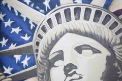 Estátua de liberdade. ilustração royalty free