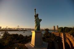 Estátua de liberdade em Tokyo Fotografia de Stock Royalty Free