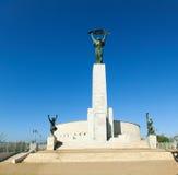 Estátua de liberdade na citadela em Budapest Foto de Stock