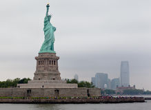 Estátua de liberdade New York City Fotografia de Stock Royalty Free