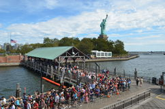 Estátua de liberdade, New York City Fotografia de Stock Royalty Free