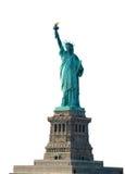 Estátua de liberdade no suporte, New York Fotografia de Stock