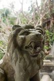 Estátua de Lion Stone em Vietname imagens de stock royalty free