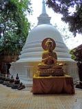 Estátua de Lord Buddha imagem de stock