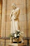 Estátua de mármore de Jesus Fotos de Stock
