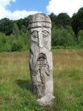 Estátua de madeira Imagem de Stock