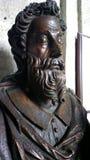 Estátua de madeira Imagens de Stock Royalty Free