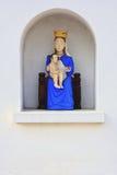 Virgem Maria com Jesus Fotografia de Stock Royalty Free