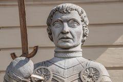 Estátua de Magdeburger Roland Knight, câmara municipal velha, Rathaus, Magdeb imagem de stock royalty free