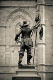 Estátua de Maisonneuve Foto de Stock Royalty Free