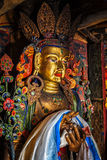 Estátua de Maitreya buddha fotografia de stock